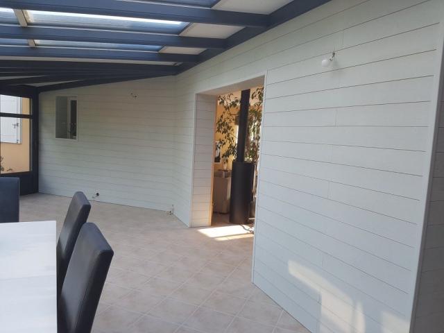Bardage veranda